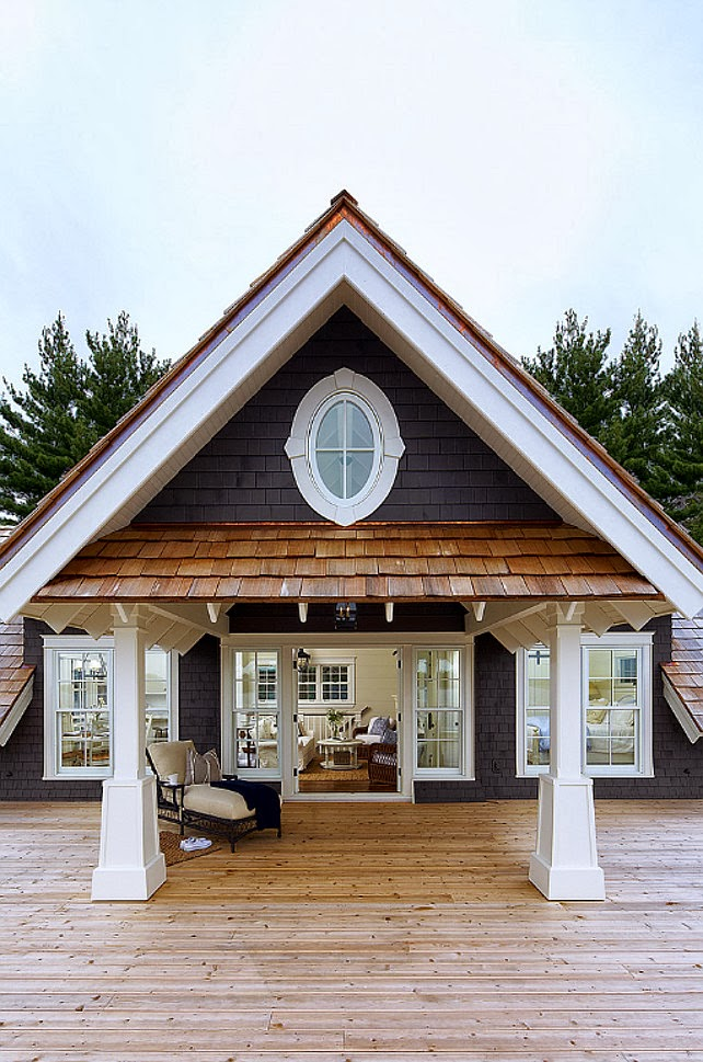 lulu klein: Muskoka Lake Cottage