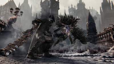 Bloodborne (Game) - 'The Hunt Begins' TV Spot - Screenshot