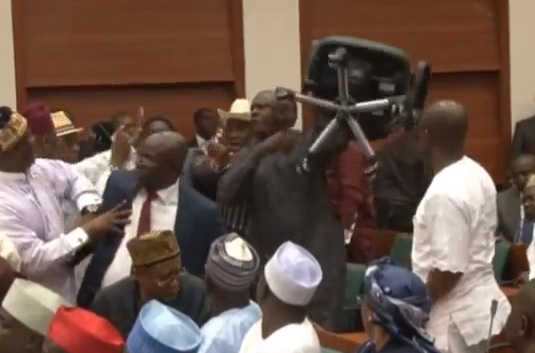 Video ; PDP Split Causes Uproar in House of Representatives .