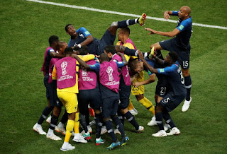 France players identify teammate who helped them win 2018 World Cup