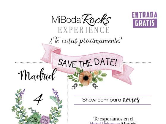 Solicita entrada para Mi Boda Rocks Experience Madrid
