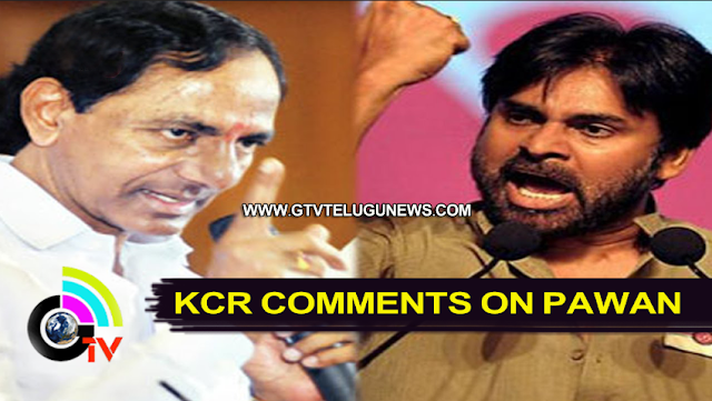 Kcr, Pawan, Pawan kalyan, Power star, Comments, Cm KCR, Janasena Chief,