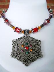 Bohemian Beauty Crystal Necklace