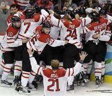 Team Canada Gold Medal 2010