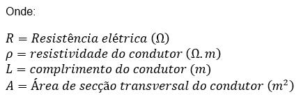 RESUMO ELETRODINÂMICA - SEGUNDA LEI DE OHM, POTENCIA E ENERGIA ELÉTRICA