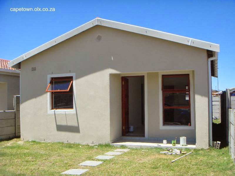 Casa residencial de concreto hecha con bajo presupuesto