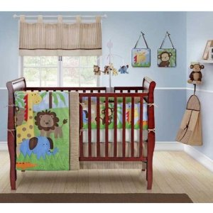 jungle theme baby bedding nursery ideas best gift ideas blog. Black Bedroom Furniture Sets. Home Design Ideas
