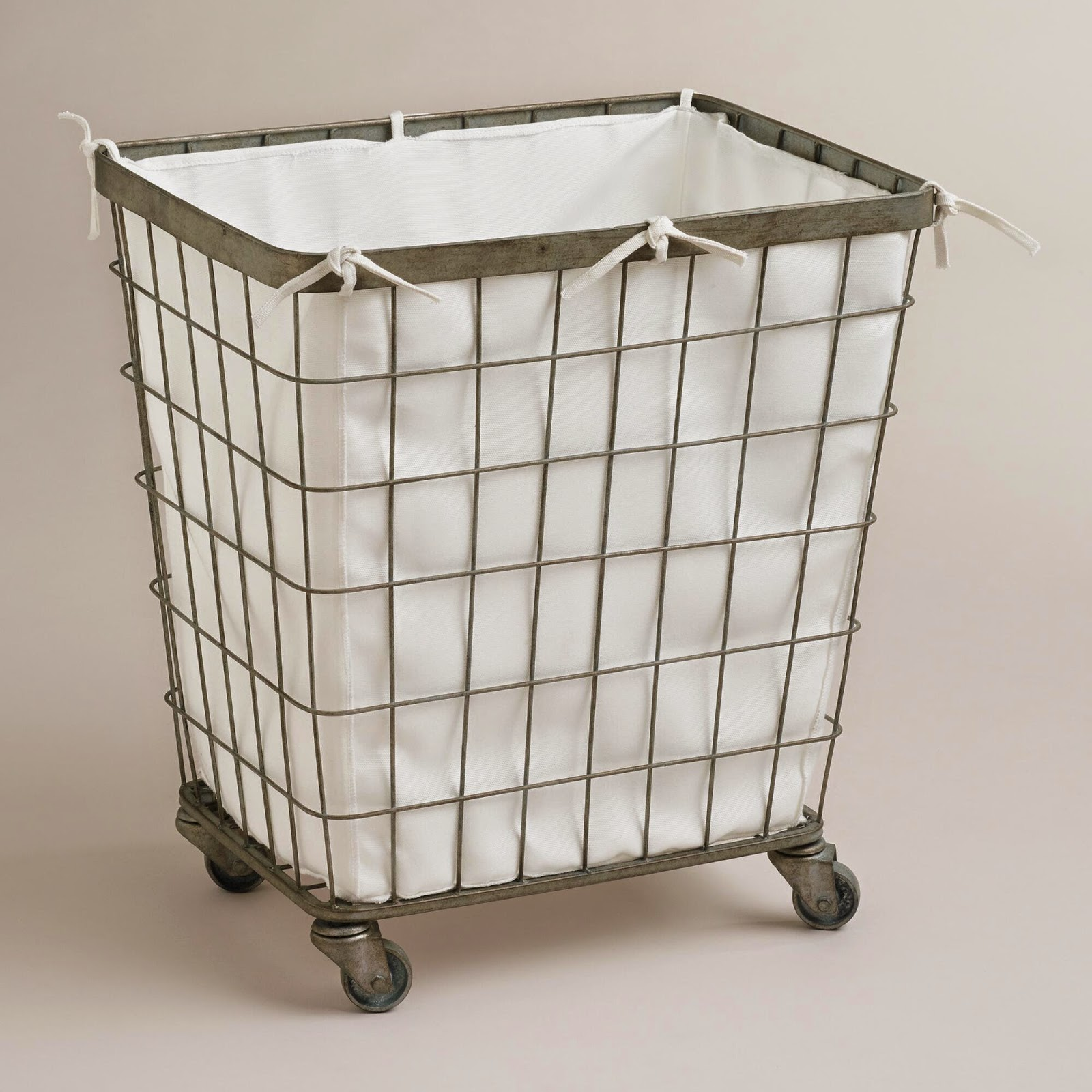 5 This Is The Elevated Laundry Basket Also From Steele Canvas I Really Like Design On One It Has That French Flare To