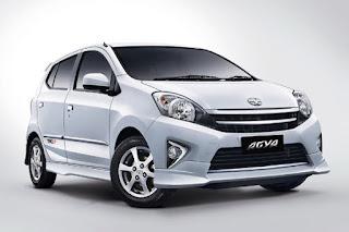 Spesifikasi Dan Harga Toyota Agya 2015
