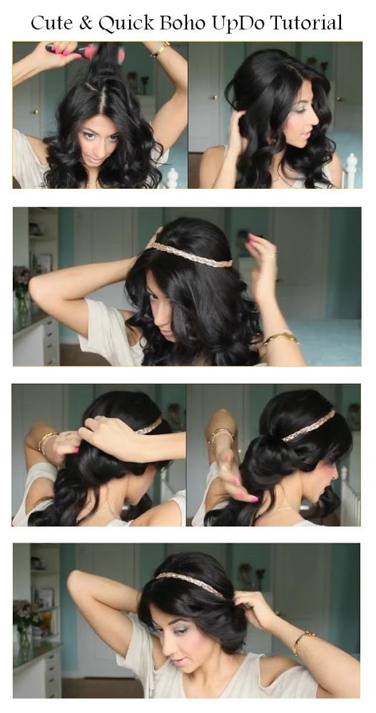 Quick Updo Hairstyles For Long Hair