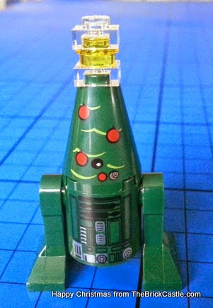 The LEGO Star Wars Advent Calendar Day 22 Christmas Tree Droid