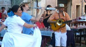 Le bonheur de danser dans la rue  Atelier de rue, fanfare et concert avec l'orchestre Calle Caribe