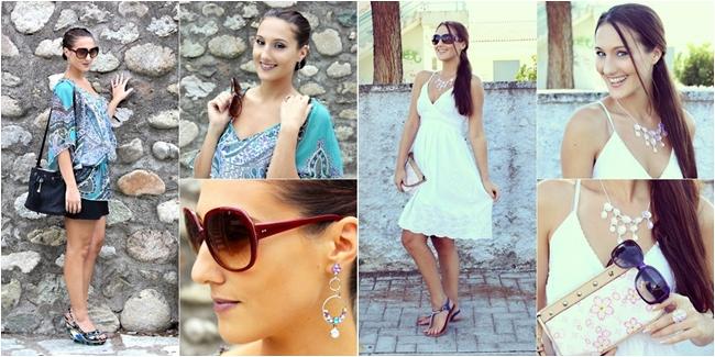 Instagram @lelazivanovic. Outfits of the week. Best summer looks.