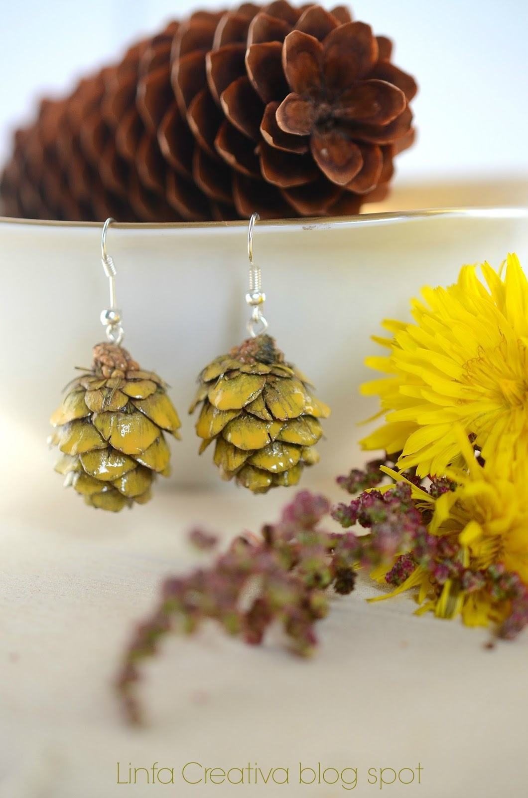 bijoux: eco-earrings
