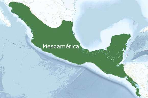 Mapa mesoamerica
