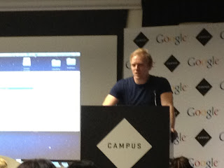 Stuart Heritage Talking at BlogCampUK London