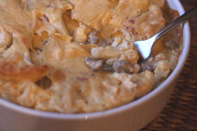 Cheesy Cauliflower Mac 'n Cheese recipe by Barefeet In The Kitchen