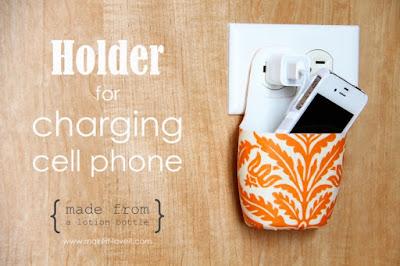 Phone holder buatan sendiri