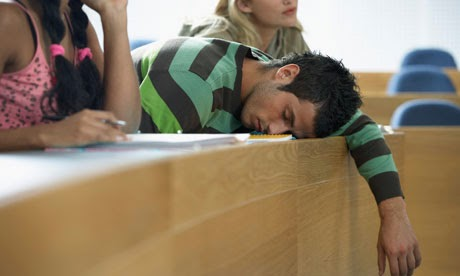 Sleeping During an Exam