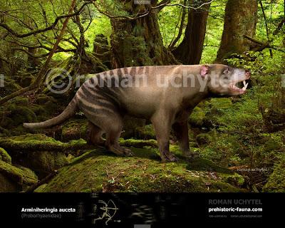 marsupiales extintos de argentina Arminiheringia