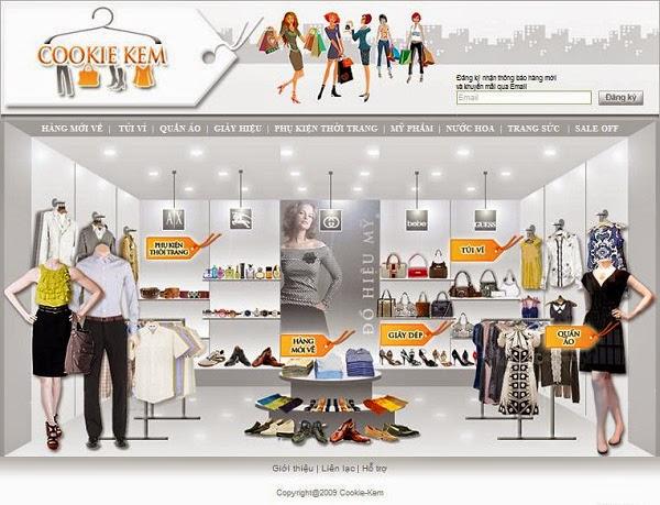 thiết kế website bán hàng váy cưới giá rẻ