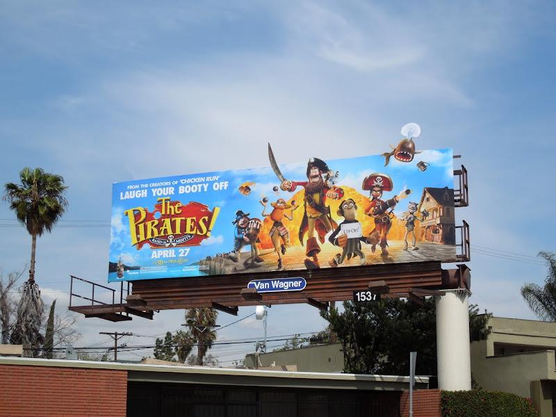 Pirates movie billboard