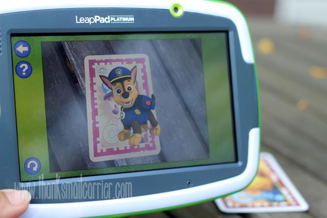 LeapFrog Imagicard paw patrol