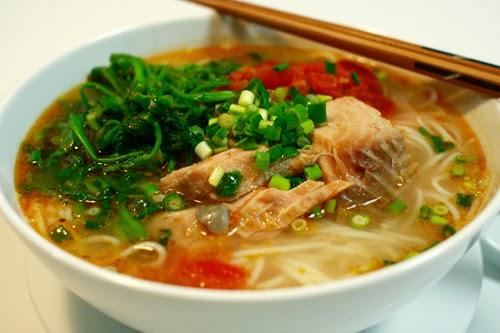 Cách làm món bún cá rau cần ngon, bổ dưỡng