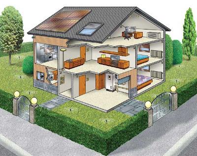 Progettazione e disegno progetto domotica 3 f ot ipsia e pieralisi di jesi - Progetto casa domotica ...