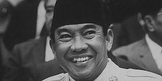 Senyuman Presiden RI Ir.Soekarno
