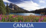 Conozca usted diversos lugares turísticos de Canadá y sus provincias