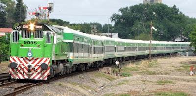 Tren a Tucumán, cuando el servicio lo brindaba Ferrocentral