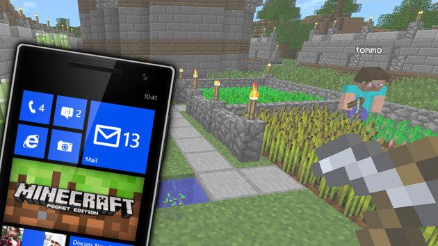minecraft pe appx windows phone