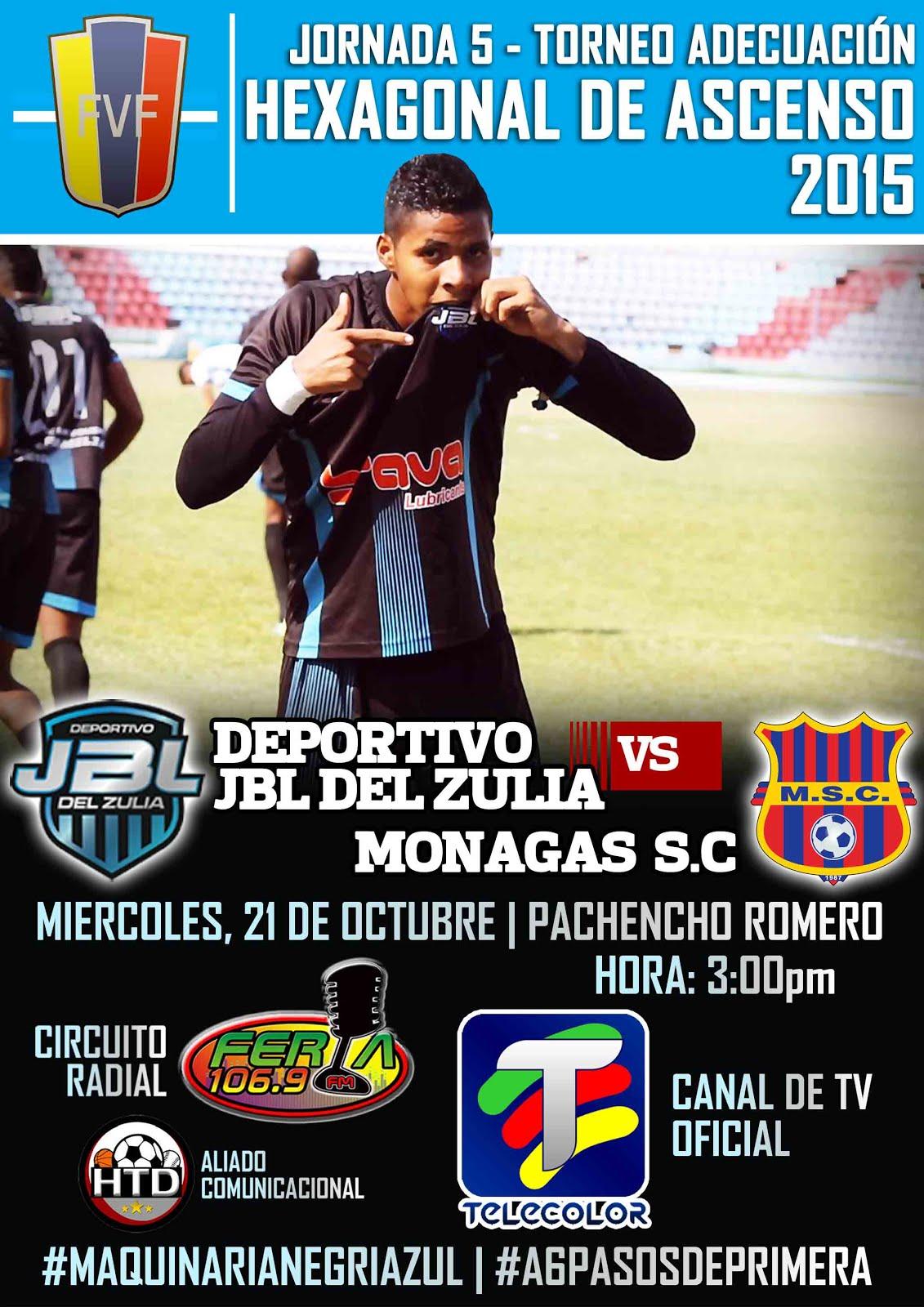 J5 Hexagonal Victoria 1-0 vs Monagas SC