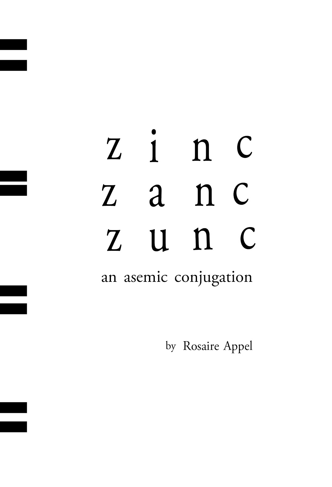 Coming Soon! From Post-Asemic Press