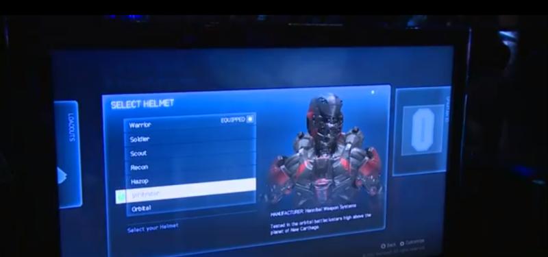 Images de certaines armures de Halo 4 Infiltrator