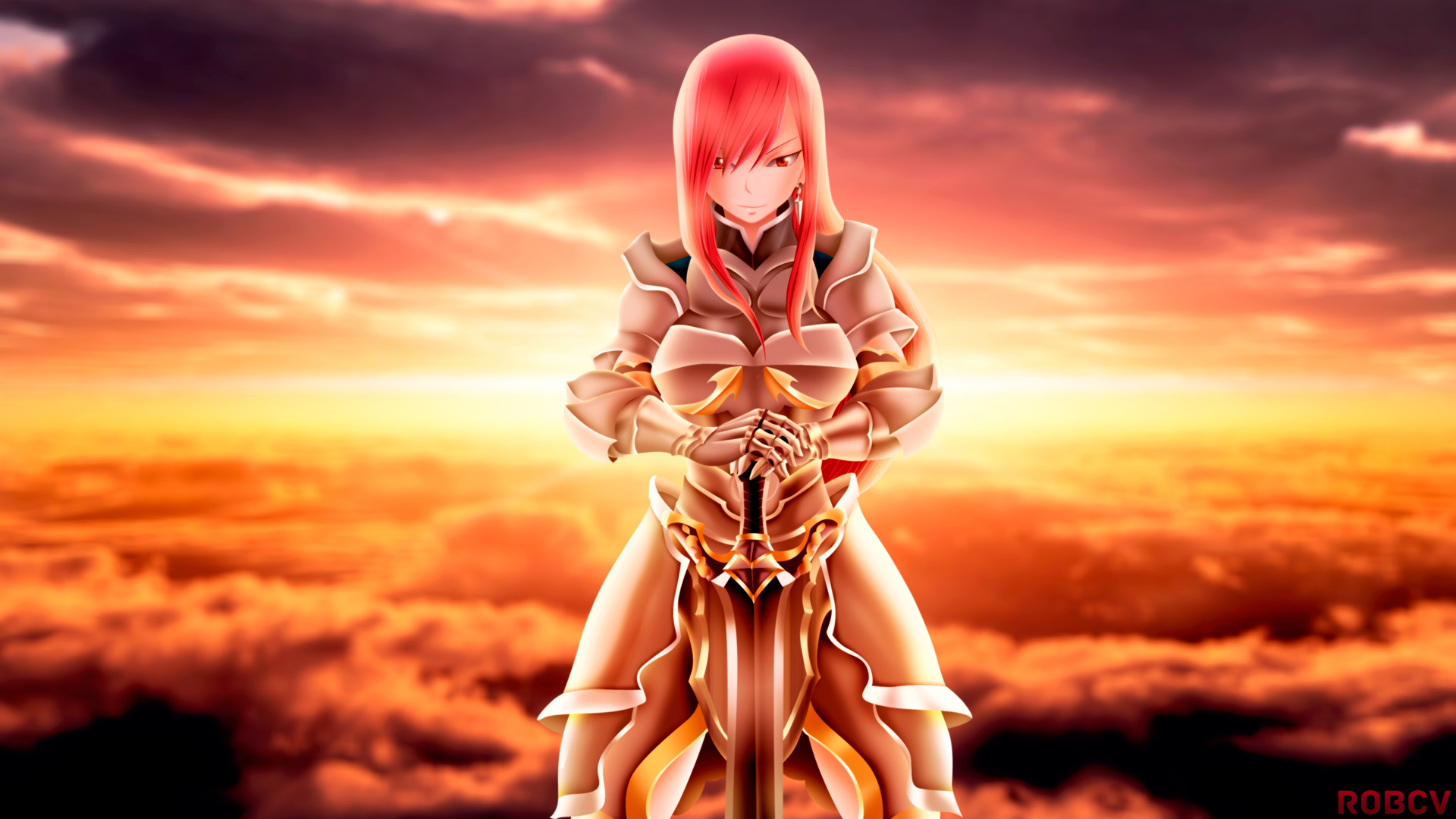 erza scarlet wallpaper - photo #1