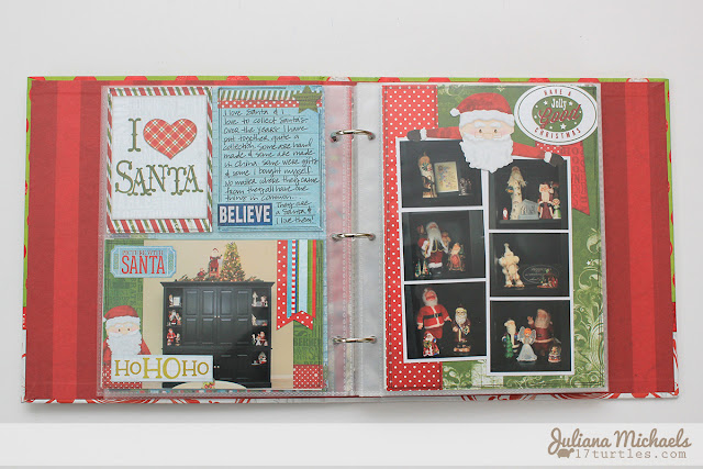 Document December Santa Pages by Juliana Michaels #bobunny #documentdecember #miscme