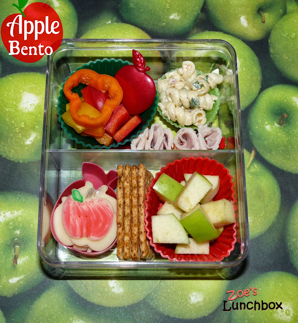 Apple Bento Lunch