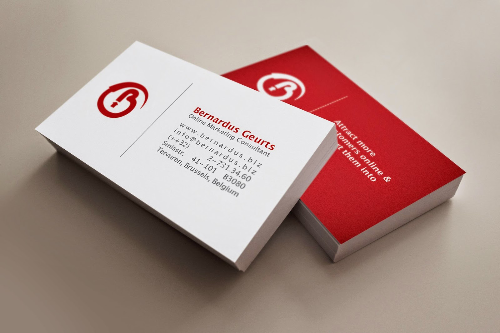Ben\'s Blog: The profitability of the business card