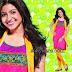 Anushka Sharma in Pink Silk Churidar Salwar Kameez