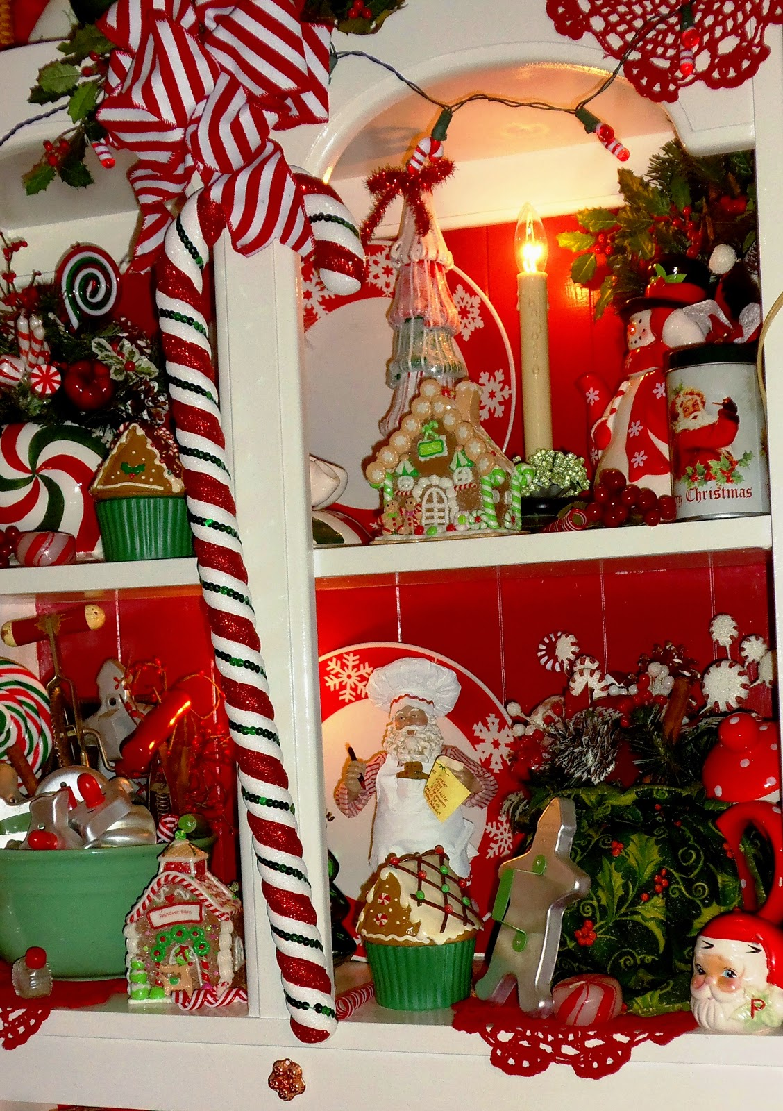 Large candy cane ornaments - Top Shelf