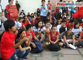 Philippines Asia Revolution: University Students Protest Against Budget Cuts on Education The World Revolution