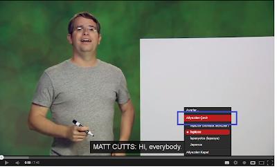 YouTube Altyazı Ekleme Özelliği