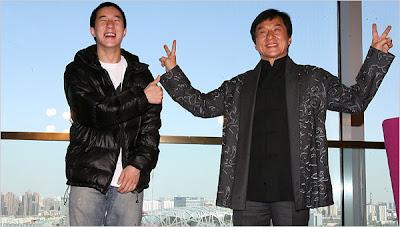 Foto Jackie Chan Bersama Anaknya