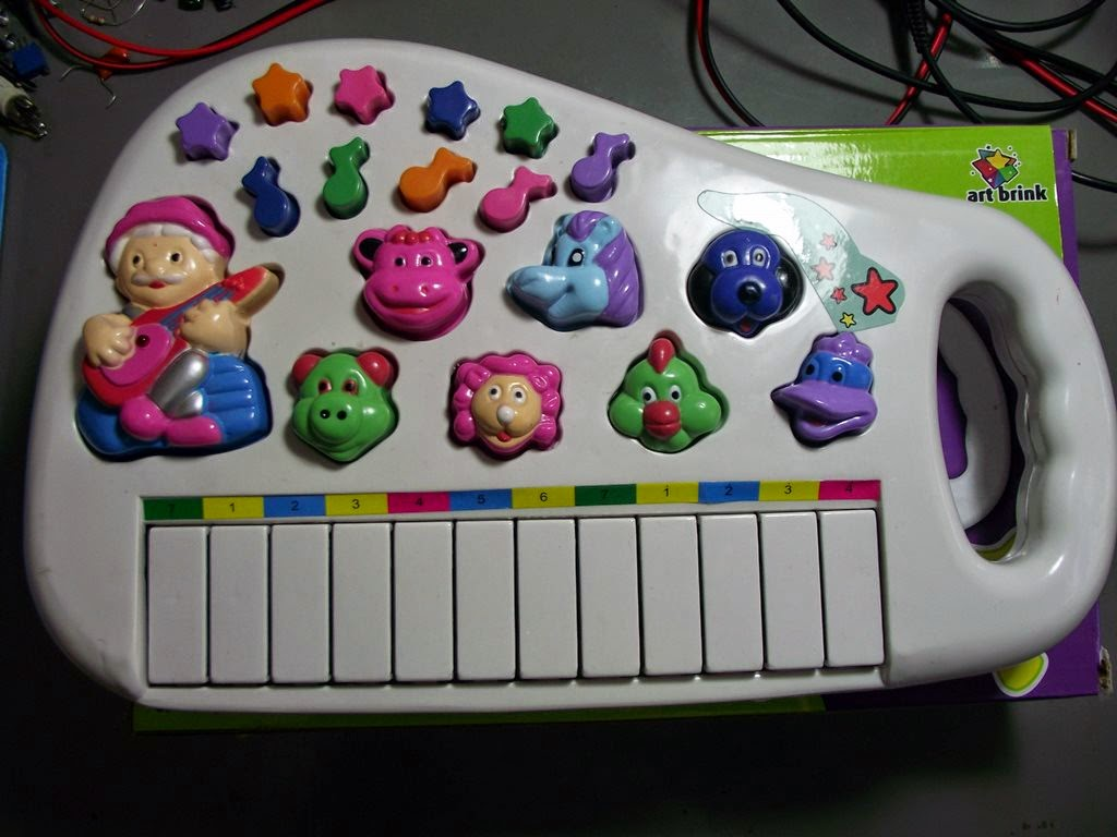 Piano de brinquedo