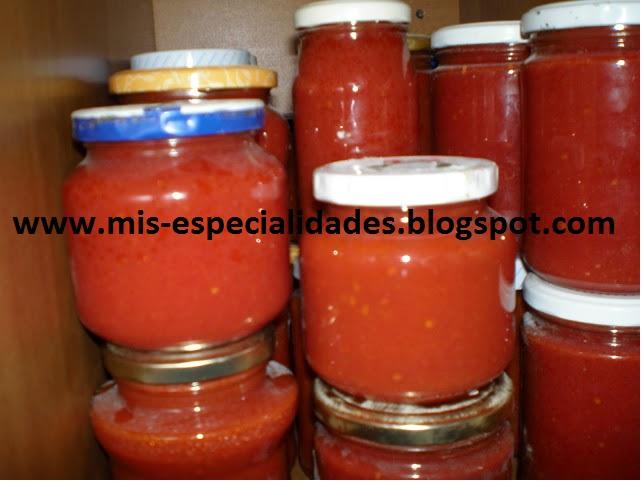 Tomates Al Baño Maria | Mis Especialidades Conserva De Tomate