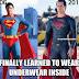 Superman 2013 Dah Pandai Pakai Seluar Dalam