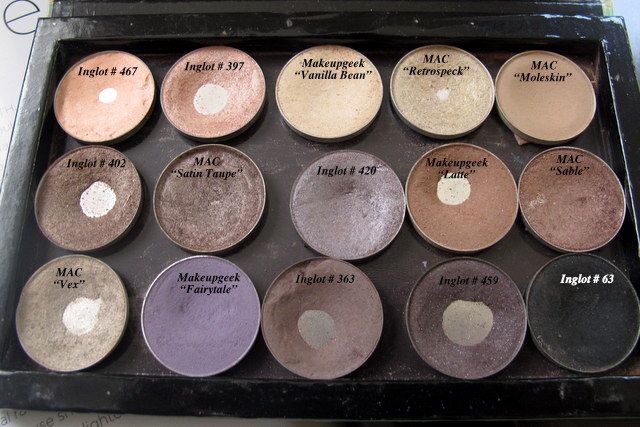 Mac Eyeshadow Palette Colors