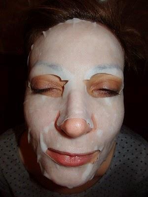 mascarilla de lirio de facialderm